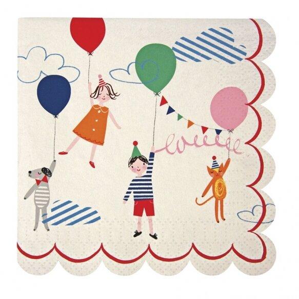 20 Toot Sweet Children's Small Napkin