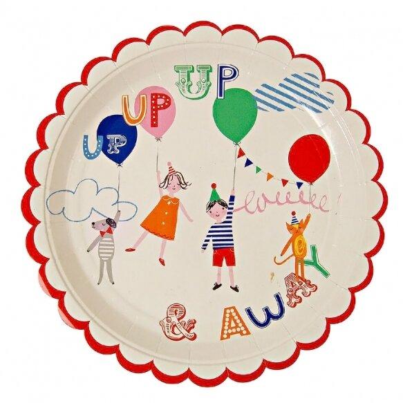 12 Toot Sweet Children's Plate