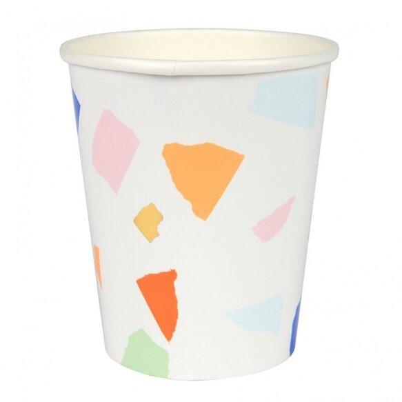 8 Terrazzo Cups