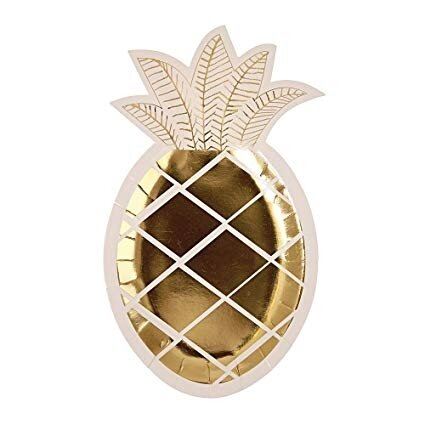 8 Pineapple Plates