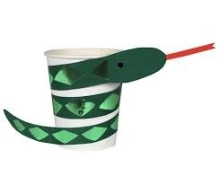 8 Snake Party Cups
