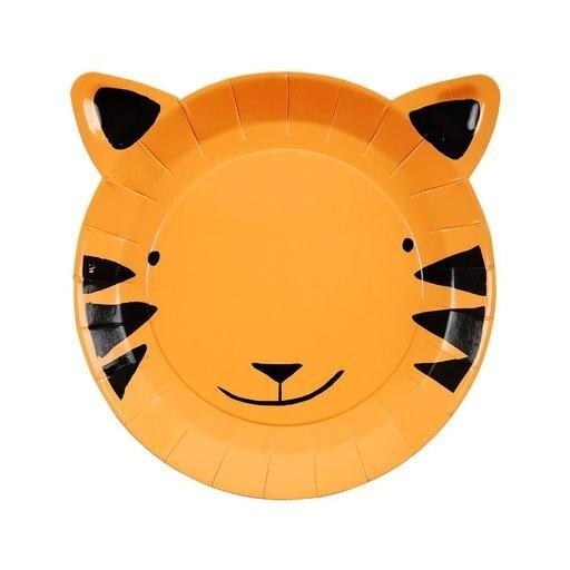 12 Small Tiger Plates