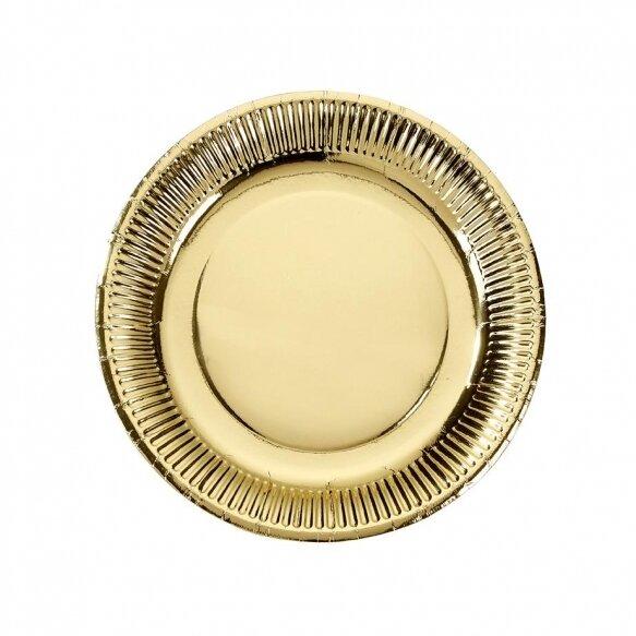 8 Modern Metallics Medium Plates