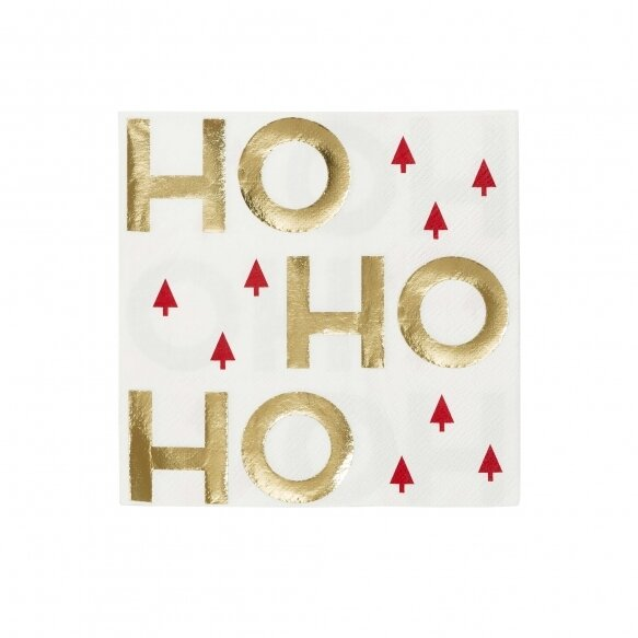 16 Ho Ho Ho Napkins