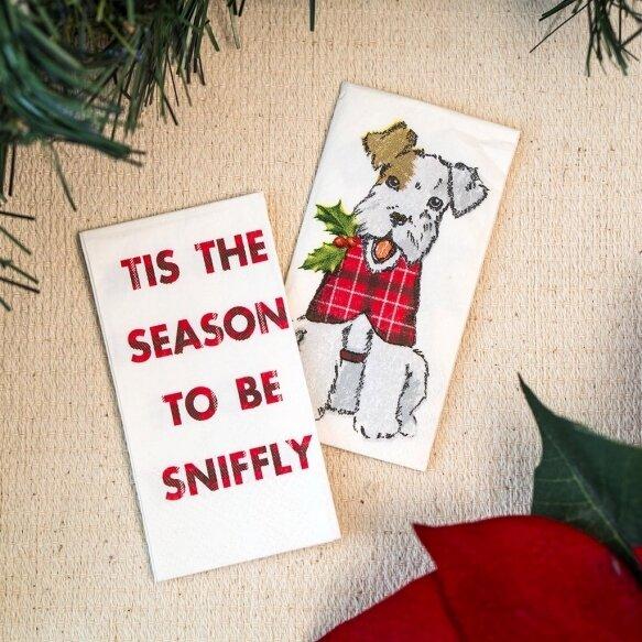 Santa Pocket Tissues