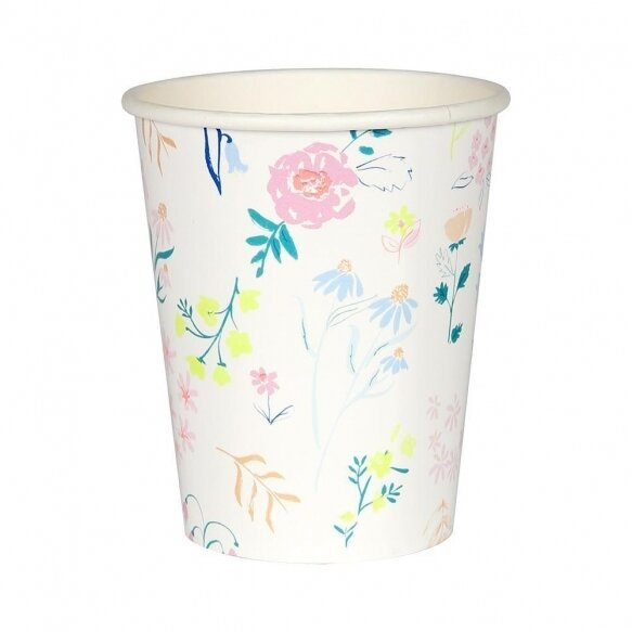 12 Wildflower Cups