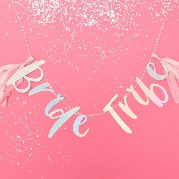 IRIDESCENT BRIDE TRIBE HEN BUNTING