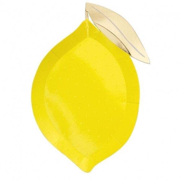 8 Lemon Plates