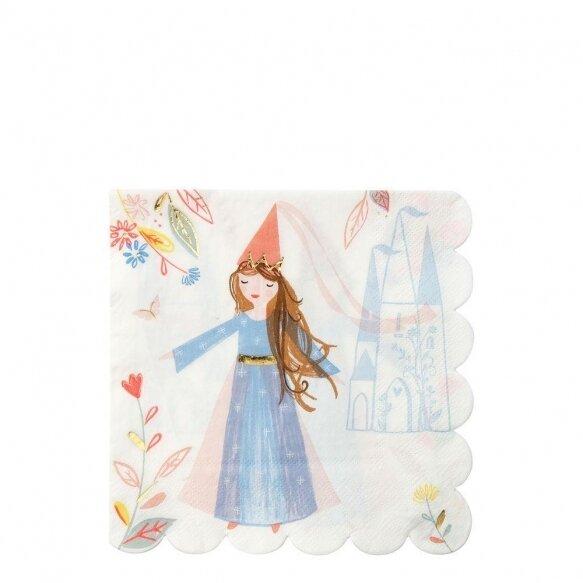 16 Magical Princess Large Napkins
