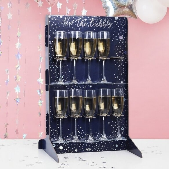 BUBBLY DRINKS WALL HOLDER