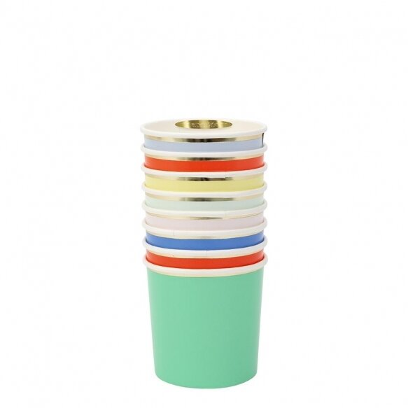8 Party Palette Tumbler Cups