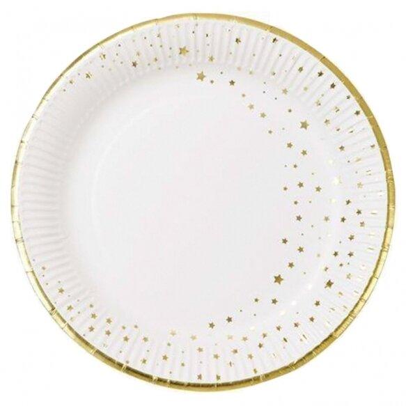 12 Star Round Plates