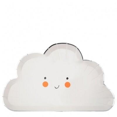 8 Happy Cloud Plates