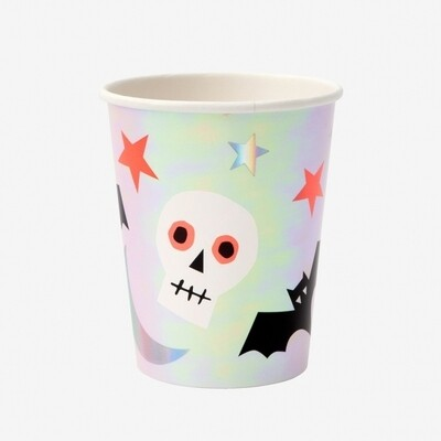8 Halloween Icons Cups