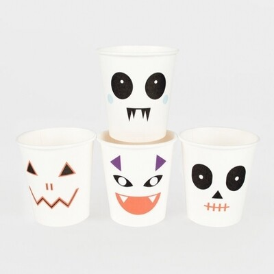 8 CUPS - MINI MONSTERS