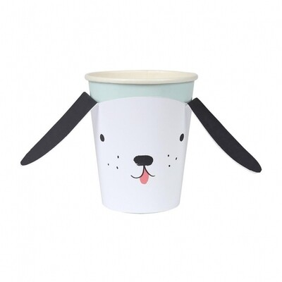 8 Dog Party Cups