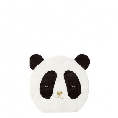 16 Panda Napkins