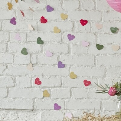 COLOURFUL HEART BACKDROP