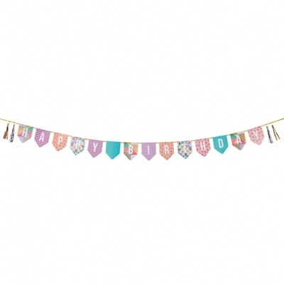 Party Time Birthday Bunting