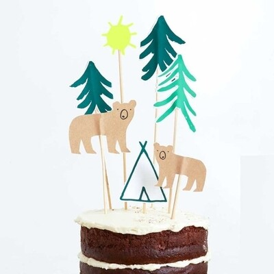 7 Let's Explore Cake Toppers