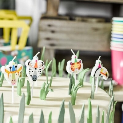 5 Party Animals Candles