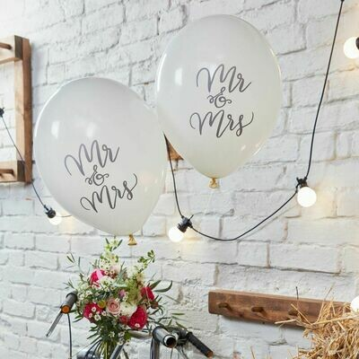 10 Mr & Mrs Balloons