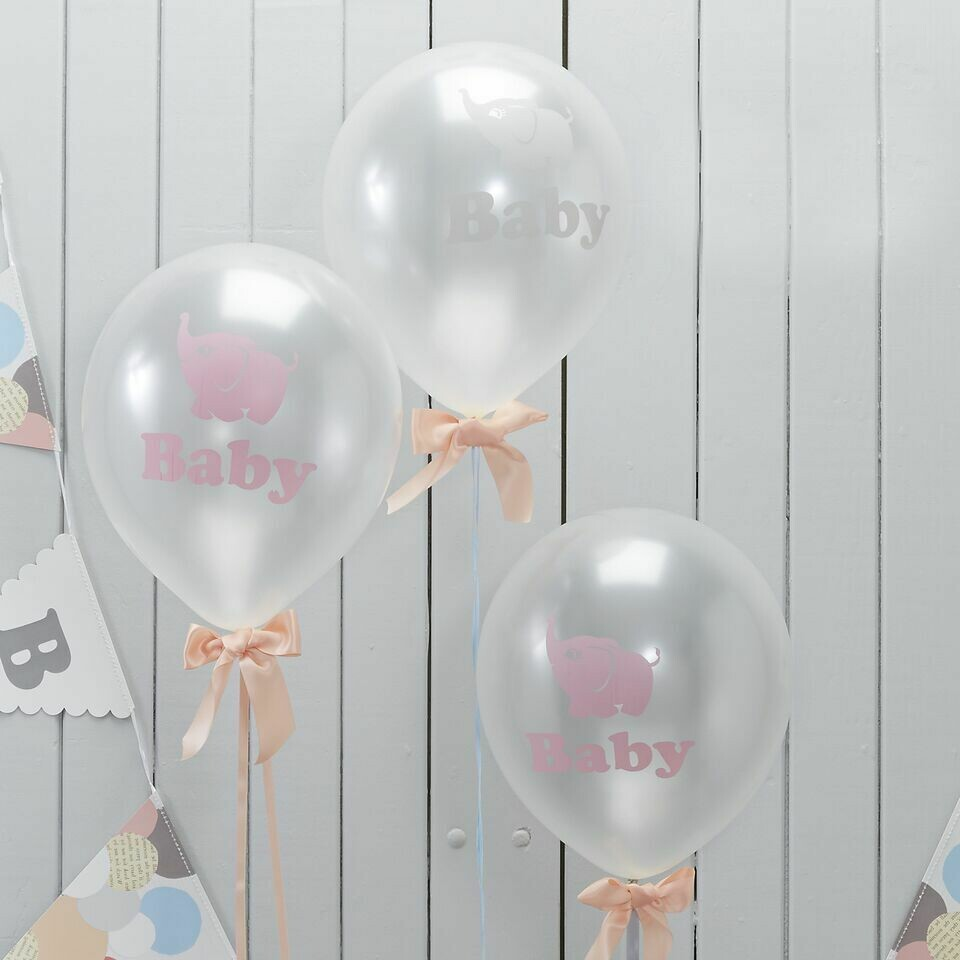 10 Baby Shower Balloons
