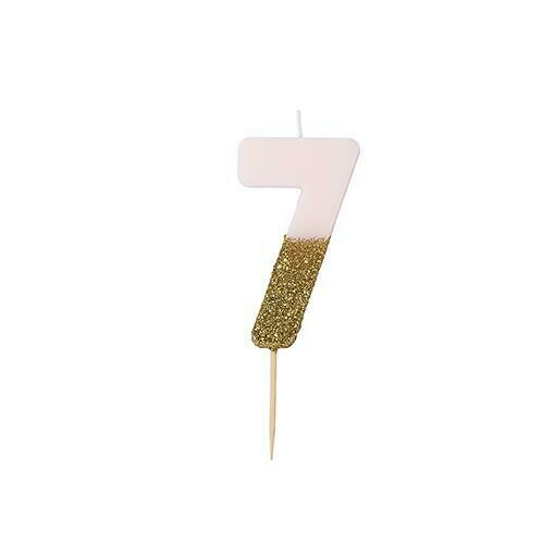 Glitter Candle - 7