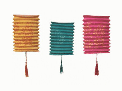 6 Tropical Fiesta Lanterns