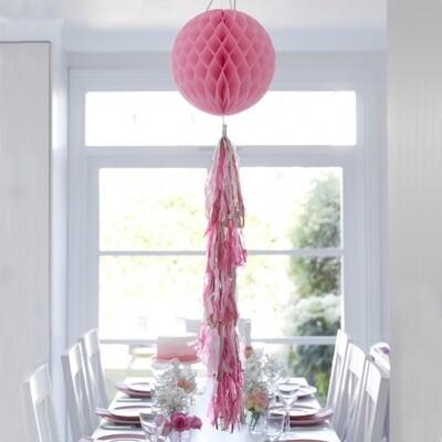 Decadent Decs Honeycomb Tasseled Decoration