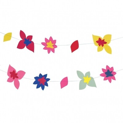 Paper garland - Tropical flower