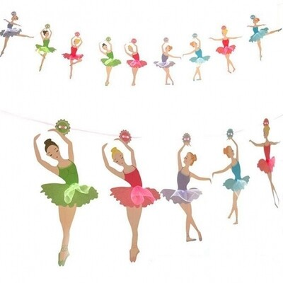 Ballet Dancers Garland