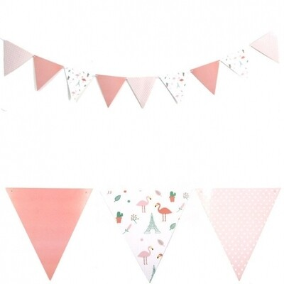 Pink Flamingo Banner