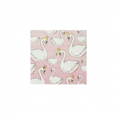16 Swans Cocktail Napkins