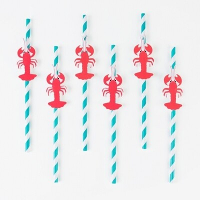 12 STRAWS - LOBSTER
