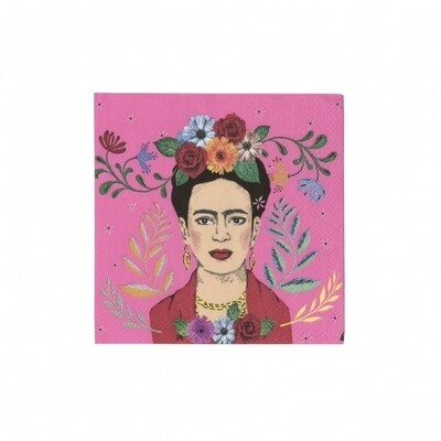 20 Frida Kahlo Cocktail Napkin