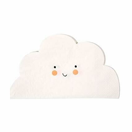 20 Cloud Shaped Napkins