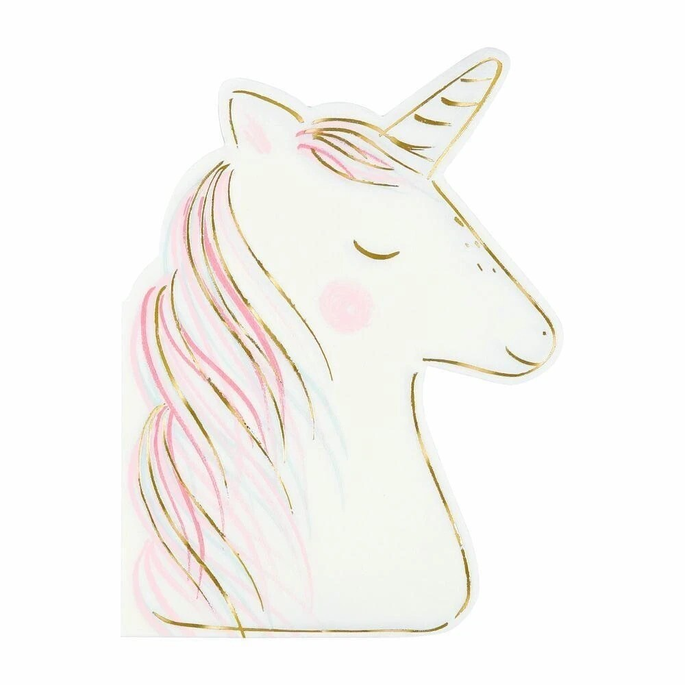16 Unicorn Napkins