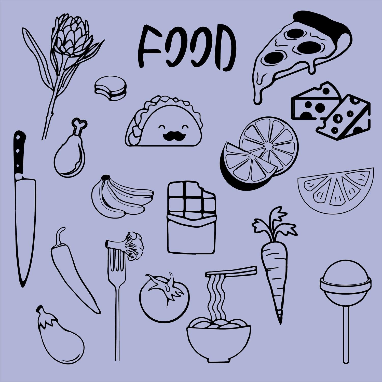 SERIE FOOD FLASH TATTOO