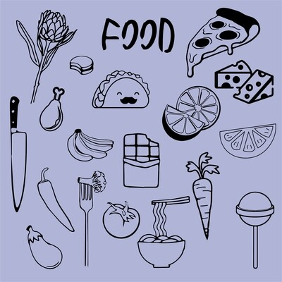 SERIE FOOD FLASH TATTOO
