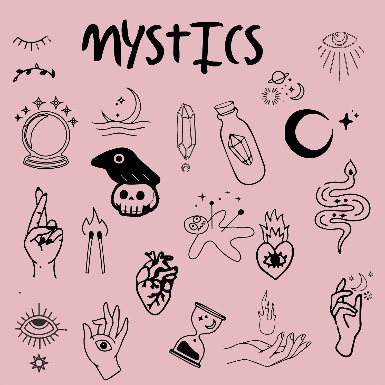 SERIE MYSTICS FLASH TATTOO