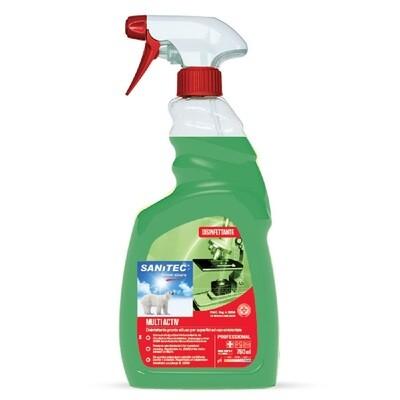 Disinfettante per superfici Sanitec Multiactiv 750ml