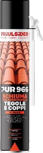 PUR 966 SCHIUMA POLIURETANICA TEGOLE E COPPI
