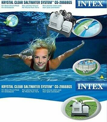 Intex 54602 Clorinatore, Ecosterilizzatore Salino