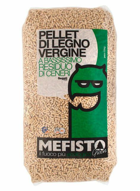 Pellet Mefisto Green