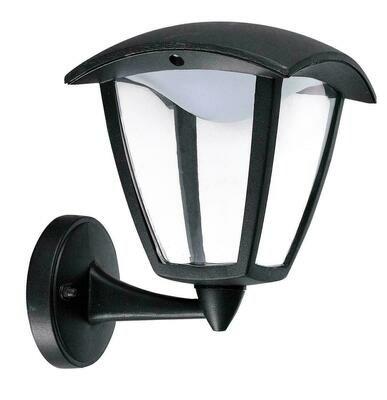 LAMPIONE SELENE A MURO LED con braccio inferiore
