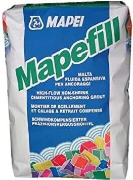 Mapefil Mapei Malta fluida per ancoraggi da kg 25