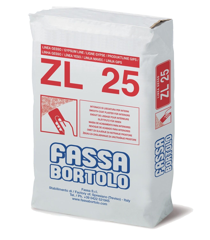 Intonaco ZL 25 Kg 25 Fassa Bortolo