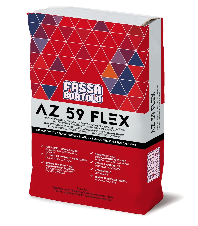 Collante AZ 59 Flex Kg 25 Fassa Bortolo
