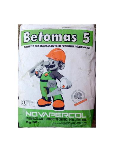 Betomas 5 Massetto Kg 25 Novapercol